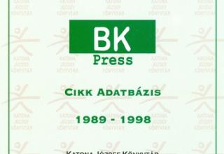 BK Press cikk adatbázis