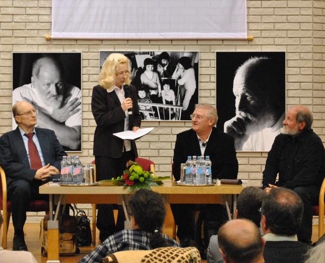 Buda Ferenc köszöntése