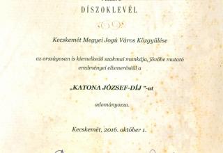 Katona József-díj