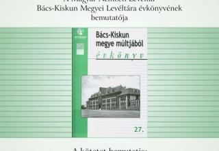 Bács-Kiskun megye múltjából 27.