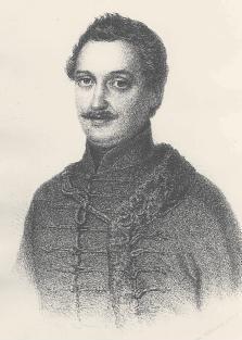 Barabás Miklós litográfiája