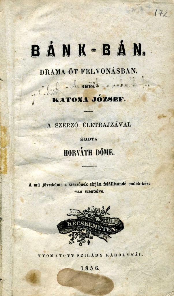 Bánk bán 1856