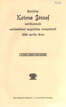 Emléklap 1883