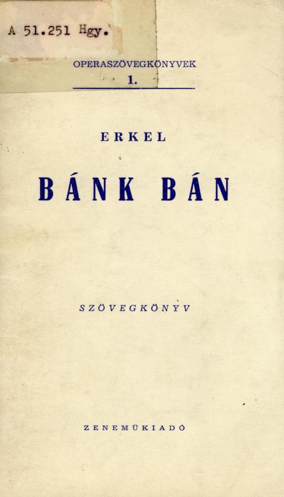 Erkel Ferenc 1960