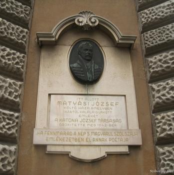 Mátyási emléktábla